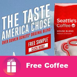 Free Sample Seattle's Best Coffee
