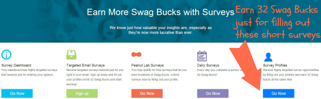 Earn More Swag Bucks: Trusted Surveys