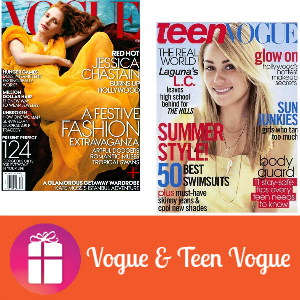 Deal Vogue & Teen Vogue Magazines