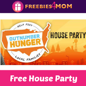 Free House Party Outnumber Hunger
