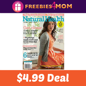 Deal Natural Health Magazine $4.99 (66% Off)