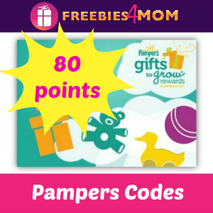 80 pts Pampers Gifts to Grow