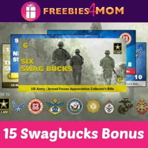 15 Swagbucks Bonus thru June 1