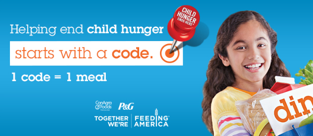 Let's End #ChildHunger Together with ConAgra Foods at H-E-B