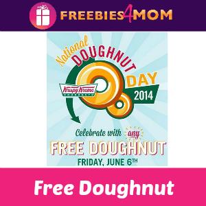 Free Krispy Kreme Doughnut June 6