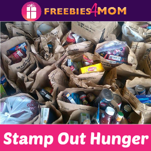 Stamp Out Hunger Food Drive Saturday