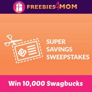 Super Savings Sweepstakes: Win 10,000 Swagbucks!