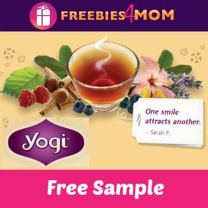 Gift a Free Sample of Yogi Tea
