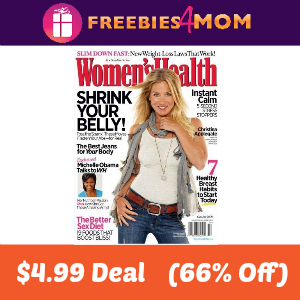 Deal Women's Health $4.99  (66% Off)