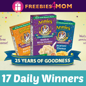 Sweeps Annie's 25 Years of Goodness