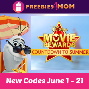 Disney Movie Rewards Code (5 pts thru June 20)