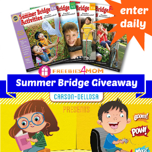 Summer Bridge Activities Giveaway Winner: