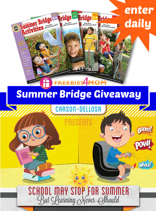 Summer Bridge Activities Giveaway