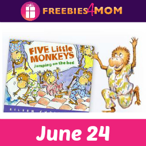 Five Little Monkeys Storytime June 24