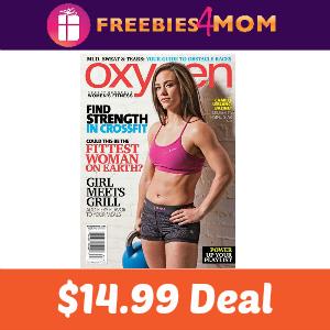 Magazine Deal: Oxygen $14.99