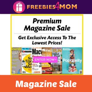 Magazine Sale: Premium Magazines