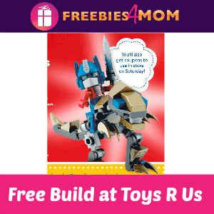 Free Transformers Build & Demo at Toys R Us