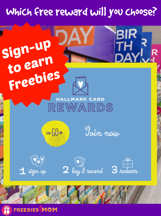 Earn Freebies from Hallmark Card Rewards