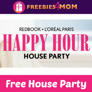 Free House Party: Redbook + L'Oreal Paris