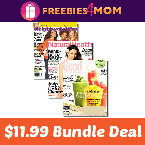 Weight Watchers, Natural Health & Good Housekeeping $11.99