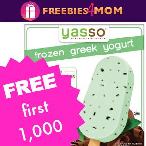 Free Box of Yasso Frozen Greek Yogurt