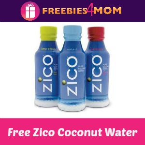 Free Zico Coconut Water at Kroger