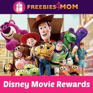 Disney Movie Rewards 50 Points