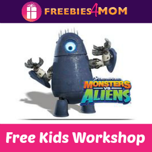 Free Monsters vs. Aliens Robot Lowe's Kids Clinic