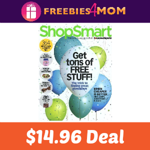 Magazine Deal: ShopSmart $14.96