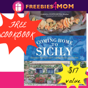 Free Cookbook: Coming Home To Sicily ($17 value)