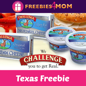 Free Challenge Cream Cheese *Texas Only*