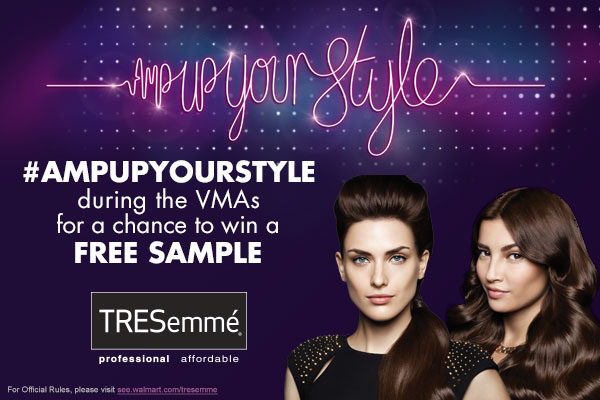 TRESemme Free Sample Giveaway