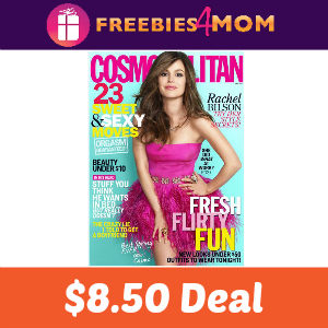 Magazine Deal: 2 Years of Cosmopolitan $8.50