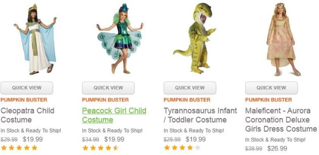 Kids Costume Deals