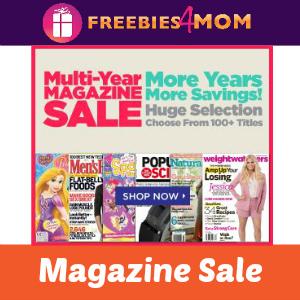 Magazine Deal: Multi-Year Sale