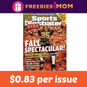 Magazine Deal: Sports Illustrated For Kids