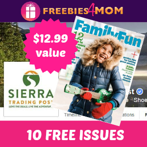 Free Family Fun Magazine ($12.99 value)