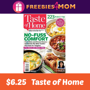 Magazine Deal: Taste of Home $6.25