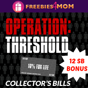 Earn 12 BONUS Swagbucks from Operation: Threshold