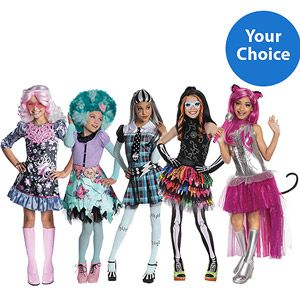 Monster High Halloween Costumes