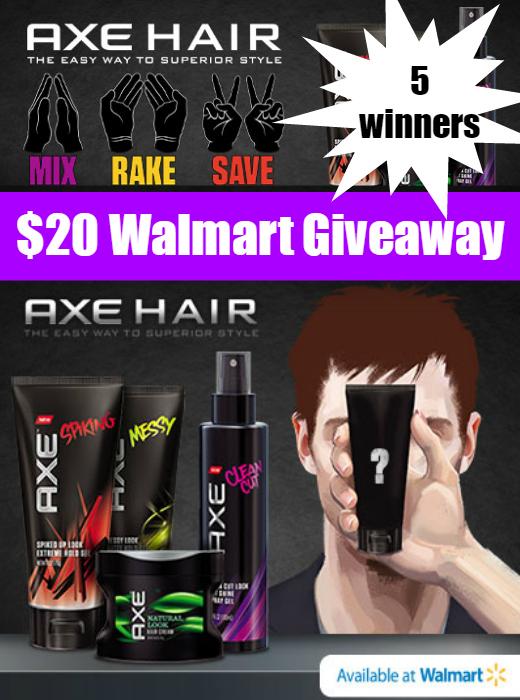 $20 Walmart Giveaway (5 winners) ~ Mix Rake Save