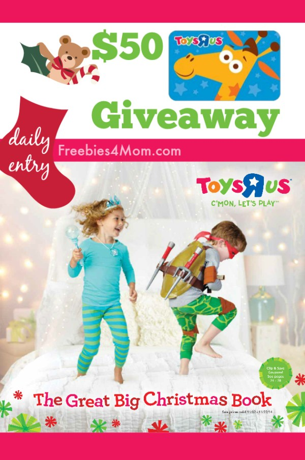 "$50 Toys""R""Us Giveaway ~ The Great Big Christmas Book"