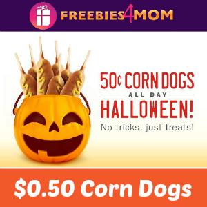 Sonic $0.50 Corn Dogs Friday