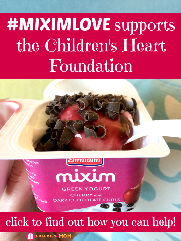 #MIXIMLOVE supports the Children's Heart Foundation