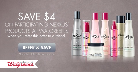 Nexxus Coupon