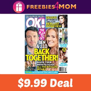 Magazine Deal: Ok! $9.99 ($0.19 per issue)