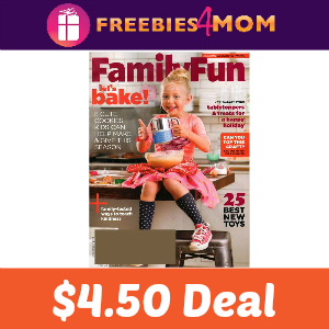Magazine Deal: Family Fun $4.50