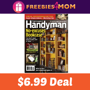 Magazine Deal: Family Handyman $6.99/year