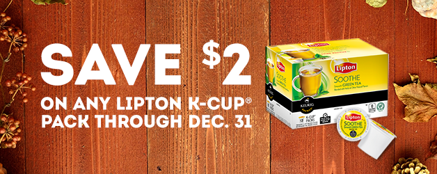 Lipton K-Cup Coupon