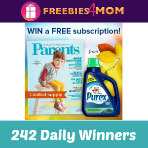 Sweeps Purex & Parents Magazine